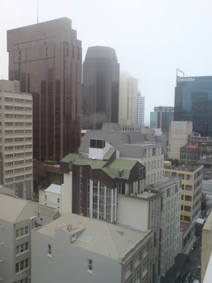 Lower Auckland Central Business District in Auckland, New Zealand